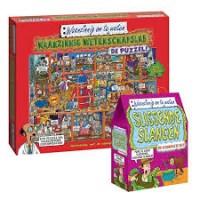 Waanzinnig om te weten puzzel 300 stukjes: Waanzinnig wetenschapslab met lab-boekje