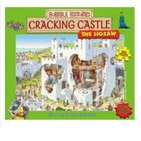 Waanzinnig om te weten/ Horrible histories puzzel 300 stukjes: Cracking Castle met bijbehorend boekje