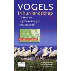 Wesseling, Monica, Buissink, Frans en Geert-Jan Roebers :  Vogels in hun landschap, de mooiste vogelwandelingen in Nedland